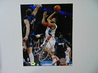 """Charlotte Bobcats"" Sean May Hand Signed 8X10 Color Photo CAS COA"