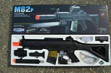 Double Eagle M82P SIG 552 Semi/Full Auto Airsoft Electric Assault Rifle Gun AEG