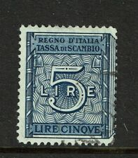 """Italy 1 """"Tassa Lusso E Scambi"""" 1938 Stamp, (one) B is missing, see notes - S6102"""
