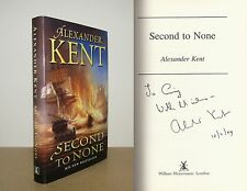 Alexander Kent - Second to None - Signed - 1st/1st