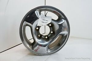 "Infiniti QX4 1997-2003 Used OEM Wheel 16x7 Factory 16"" Rim  SILVER MACHINED"
