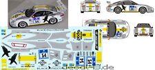 "1/43 Decal Porsche 911 GT3 Cup ""Black Falcon"" 24h Nürburgring 2013"