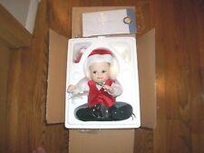 Franklin Mint Naughty Nicholas Porcelain Christmas Doll