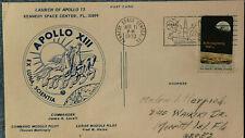 Apollo 13 VIP CARD Lovell Mattingly Haise KSC Kennedy Space Center 11.Apr. 1970