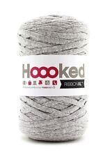 Hoooked ribbonxl 120M crochet punto tejer hilado de de algodón-Gris Plata