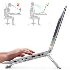 """17"""" Laptop Stativ Ständer Halterung Notebook Halter PC Auflage Stütze Silber GB"""