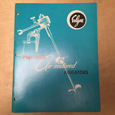 Vtg Eclipse Systems Catalog Pneumix Air Motored Agitators Stirrers Propellers 72