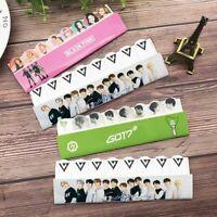 Kpop BLACKPINK GOT7 SEVENTEEN Sticky Note Memo Pad Sticker Bookmark lskn Seja