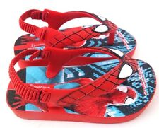 Marvel Amazing Spider-Man Baby Slippers Sandals W/Heel Support Size US 6 EUR 21