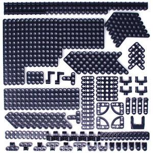 Lego 185x Genuine Technic Black Studless Beams Liftarms Thins Angular Bricks NEW