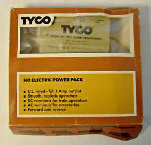 TYCO HO Electric Power Pack Hobby Transformer 899T 899 899:800 Model Toy Train
