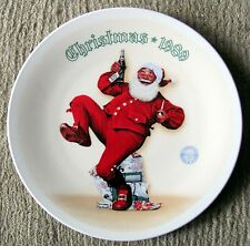 "Norman Rockwell - ""Jolly Old St. Nick"" (1989) #16 - E.M. Knowles Plate - Nm"