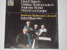Oistrach - Rostropowitsch - Richter - Karajan - Beethoven -Tripelkonzert- LP