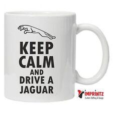 KEEP CALM JAGUAR - Novelty Mug Funny Birthday Xmas Gift Tea Coffee Work Car Jag