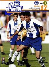 BL 99/00 Hertha BSC - Borussia Dortmund, 20.05.2000 - Poster Dieter Hoeneß