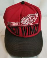 Detroit Red Wings Hat Snapback Baseball Cap New Era 9Fifty NHL Hockey