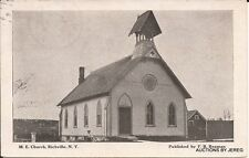 M. E. CHURCH, RICHVILLE, NY 1909 POSTMARK
