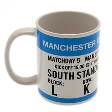Manchester City Fc Man City Mug Match Day Cup Coffee Football Work Office New