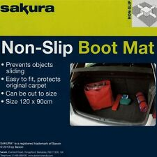 Heavy Duty Universal Fit Rubber Car Non Slip Boot Mat Trunk Liner Protection Pet