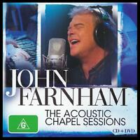 JOHN FARNHAM (CD + DVD) THE ACOUSTIC CHAPEL SESSIONS ~ YOU'RE THE VOICE ++ *NEW*