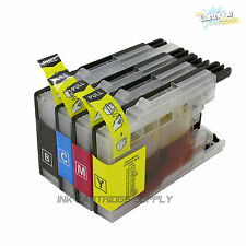 4PK LC75 XL Ink for Brother MFC-J430w MFC-J825DW MFC-J835W Printer