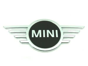Genuine New MINI BONNET BADGE Front Emblem For F55 F56 F57 2018+ Cooper D One