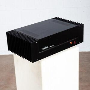 Vintage Hafler DH-200 Power Amplifier Amp Black Working Tested Hifi Mid Century