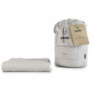 Panda Bamboo Cotton Mattress Protector in 5 Sizes**FREE DELIVERY**