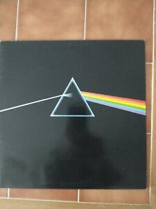 PINK FLOYD DARK SIDE OF THE MOON VINYL LP 1973 + stickers