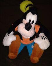 Vintage Walt Disney World Souvenir Stuffed Goofy 14 Inches Tall Rare Black Vest