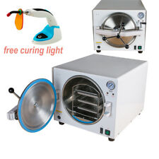 Dental lab Steam Sterilizer Autoclave Stainless steel 18L autoclavable Machine