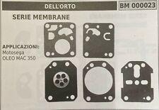 MEMBRANA/KIT RIPARAZIONE DELL'ORTO BM000023