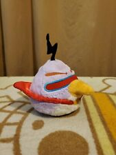 """Angry Birds Space Approx 5""""  Lazer Bird Chuck Plush With Working Sound"""