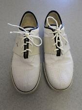 PUMA white leather athletic shoes.. Men's size 14