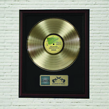"""Eagles """"Hotel California"""" Framed Cherry Wood Lp Record Display M4"""