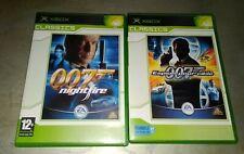 """MICROSOFT XBOX 1er GÉNÉRATION """"007 JAMES BOND""""bon état""""."""