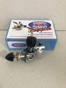 Redfin Kompish 020 Model Airplane Diesel Engine N.N.I.B