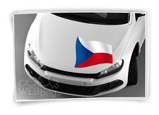 Tschechien Flagge Fahne Fußball Aufkleber Sport EM WM Auto Sticker Tattoo