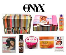 We Are Onyx Box with Curls Unleashed Cantu shea butter Natural Hair Products