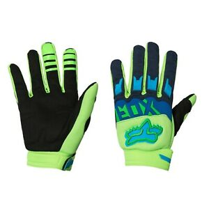 2020 Flo Green Fox Racing Dirtpaw Race Gloves Motocross Riding  Dirtbike MTX