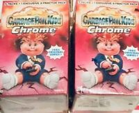 RARE UNOPENED ORIGINAL GARBAGE PAIL KIDS CHROME FIRST Series Blaster box! (1)1st
