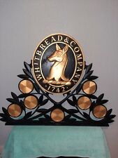 Vintage original Whitbread double sided sign