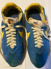 Vintage 70's Nike Waffle Sole Made in Japan Running Shoe Size 9.5