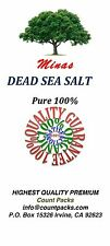 Dead Sea Salt Pure 100% Free Shipping 10 LB Fine Grain BULK From Holy Land