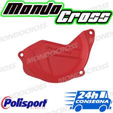 Cover protezione carter frizione POLISPORT Rosso HONDA CRF 450 R 2014 (14)