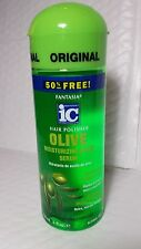 FANTASIA IC HAIR POLISH OLIVE MOISTURIZ. SHINE SERUM 6 FL OZ.UNISEX ALCOHOL FREE