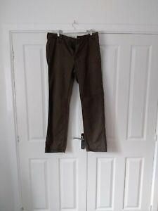 Fat face Jeans (34 Inch Waist) (32 Inch Leg) khaki green Mens