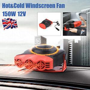 Portable DC 12V 150W Electric Car Heater Heating Fan Defogger Defroster Demister
