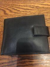 Real Leather mans  Wallet, black.
