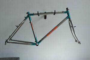 Retro Orange Clockwork Mountain Bike Frame and Forks (F72)